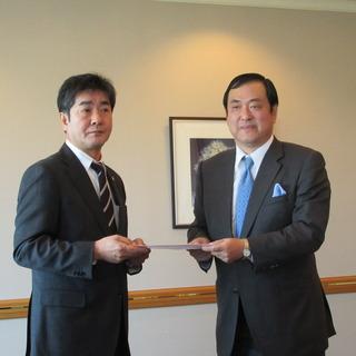 「底上げ・底支え」「格差是正」に向け、富山県経営者協会へ要請