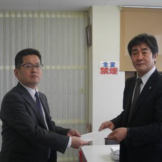 富山県内の経済団体に初の要請行動
