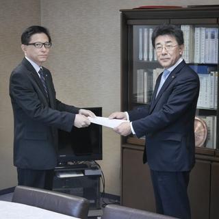 富山県内の各経済団体に要請行動